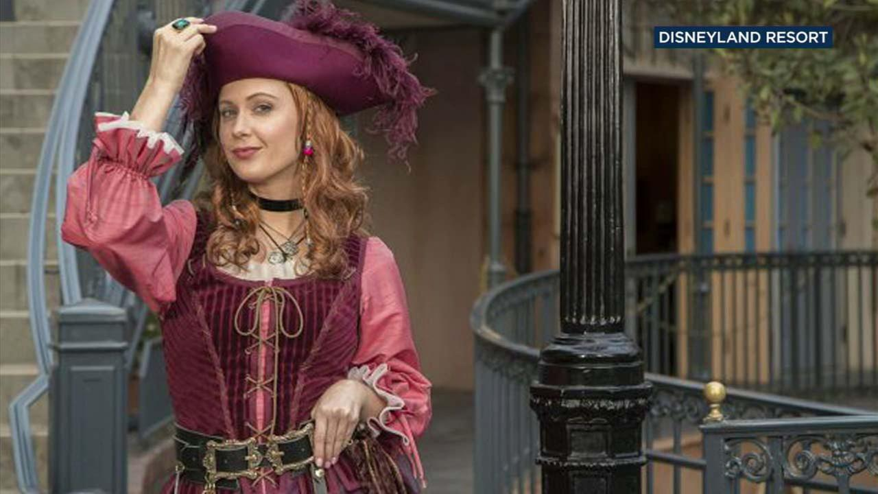 Redd, a new addition to Disneylands Pirates of the Caribbean ride is seen in a handout photo from Disneyland Resorts.