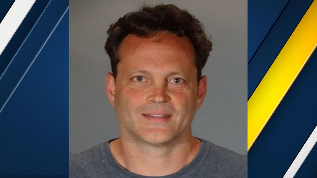 Vince Vaughn, 48, is shown in a mugshot when he was arrested on suspicion of DUI in the early morning hours of Sunday, June 10, 2018.
