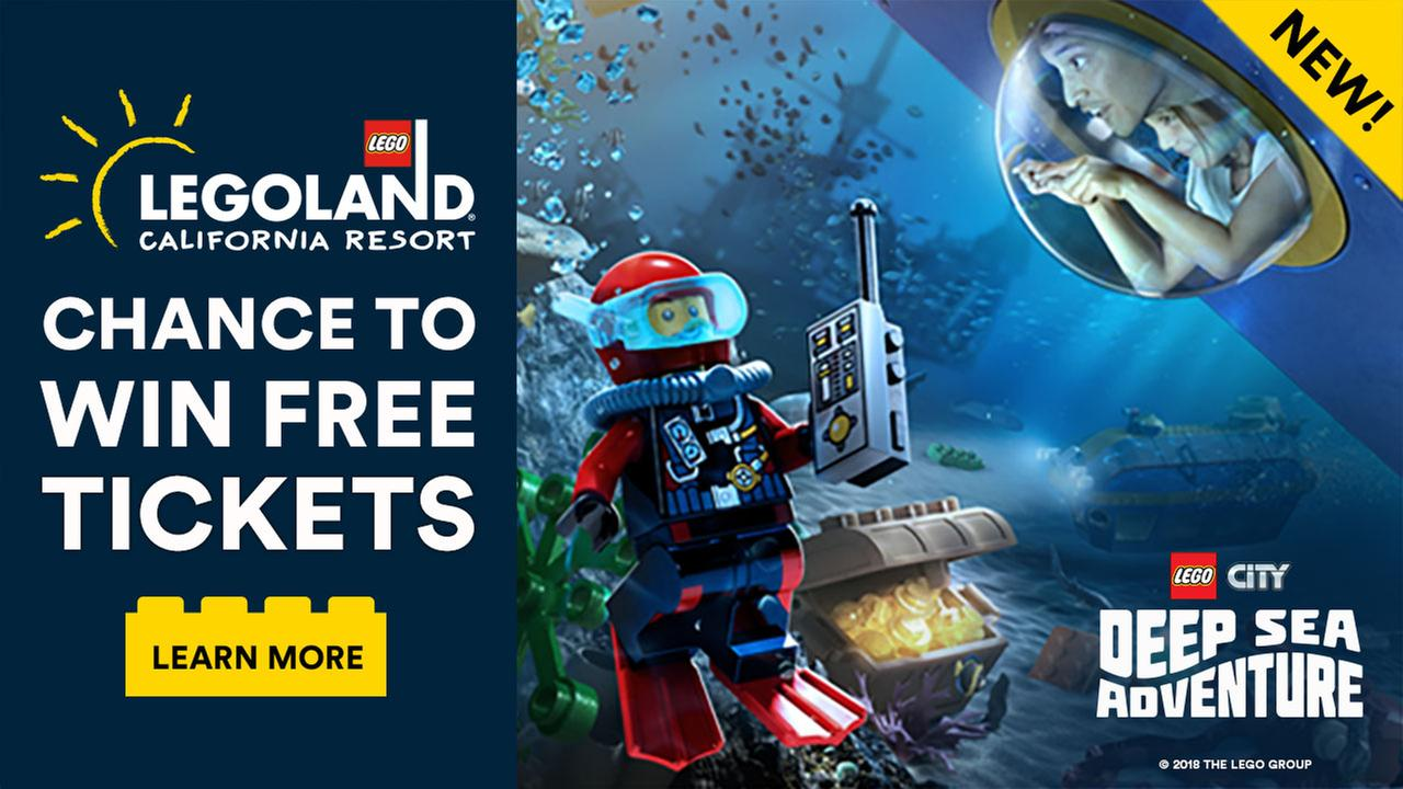 Enter for your chance to win tickets to LEGOLAND® California Resort!