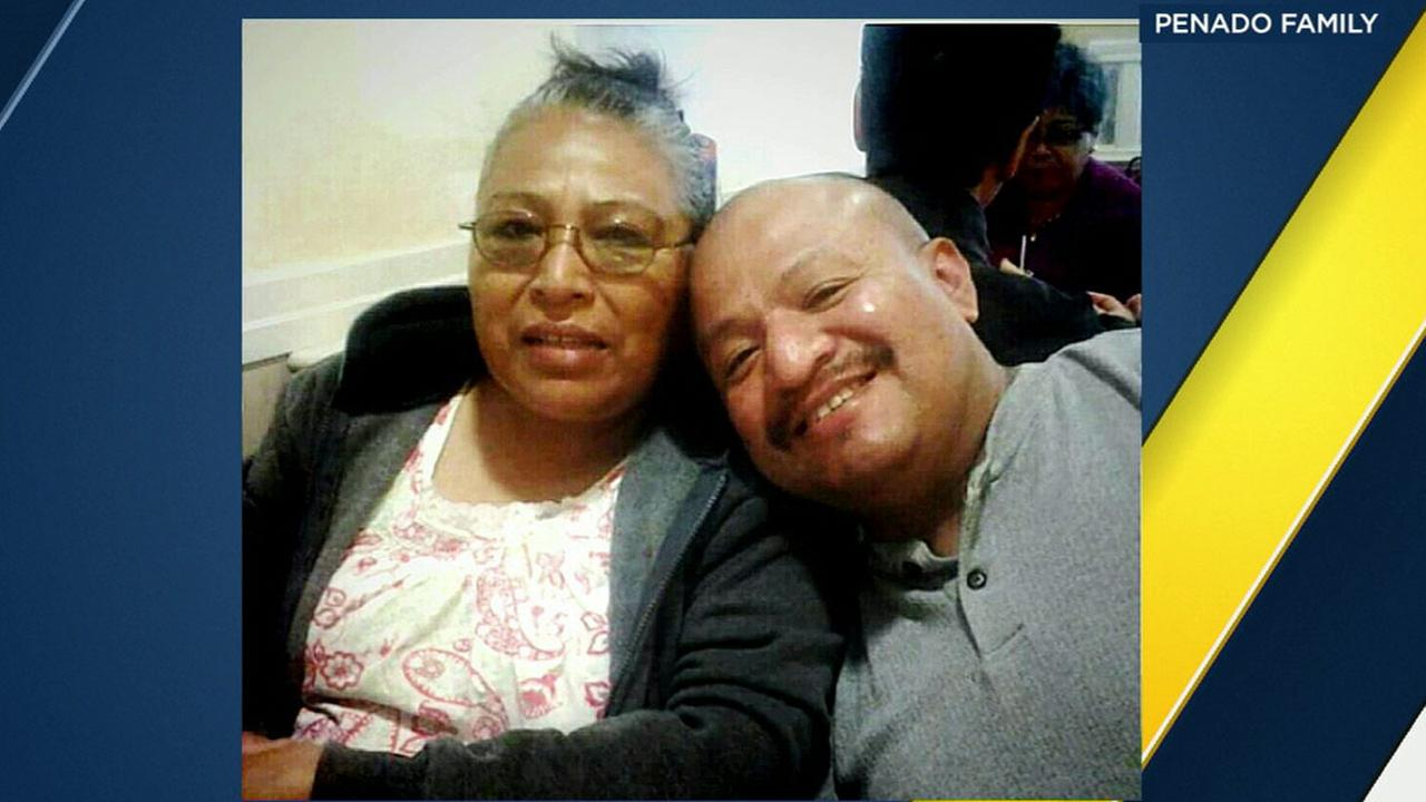 Maria Dolores is grieving her son Francisco Penado Jr., who was killed in a road-rage shooting in Compton.