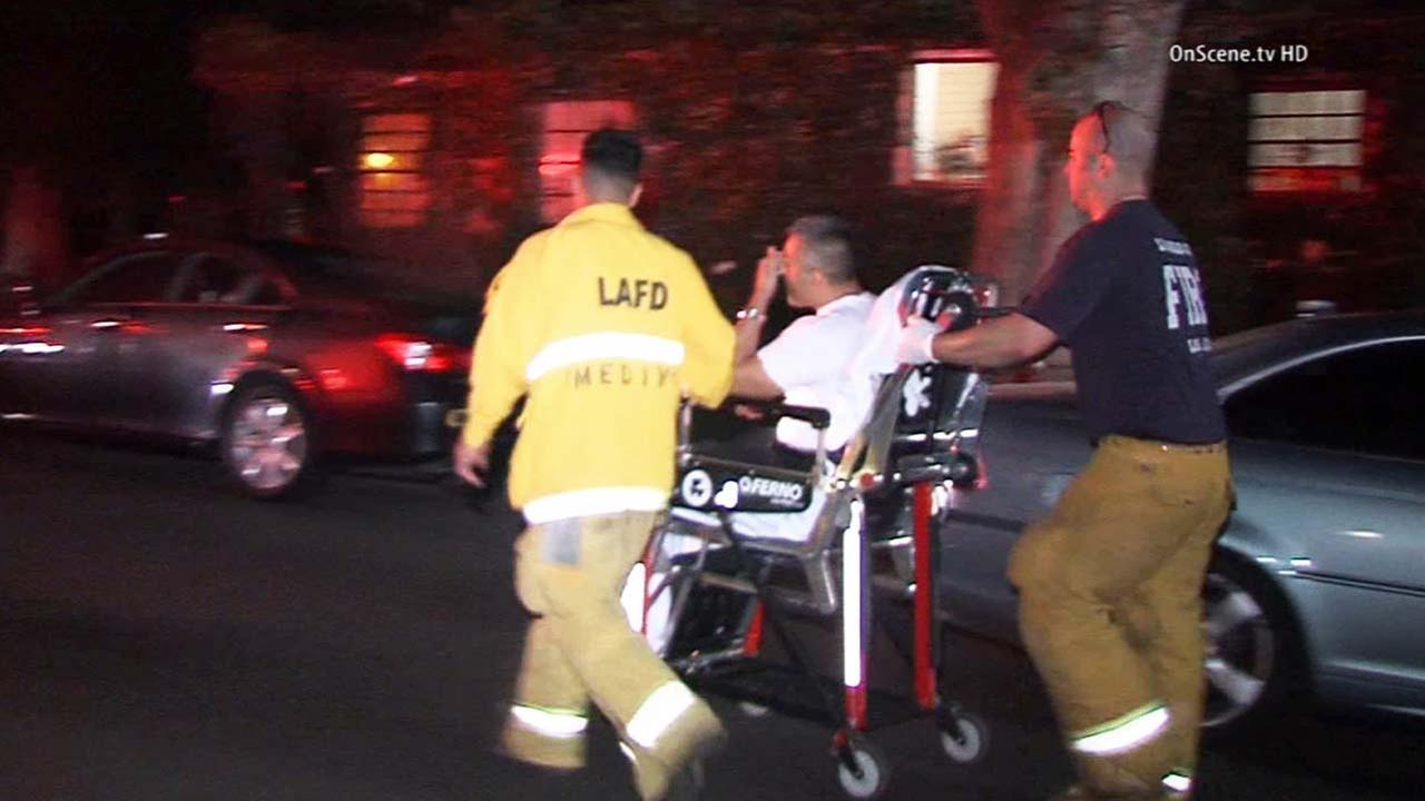 LAPD officer struck by car; driver may have been drunk