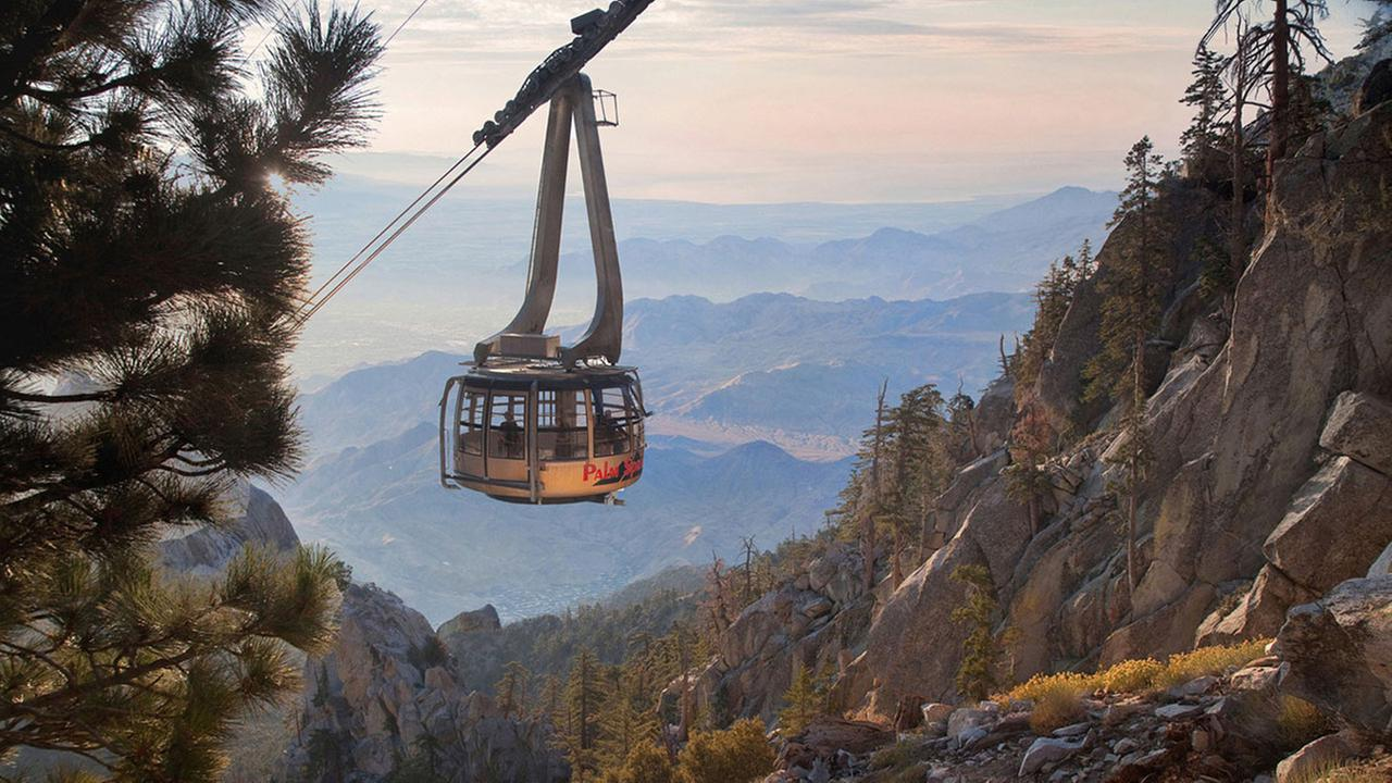 The Palm Springs Aerial Tramway is giving members of the military a chance to enjoy the tramways scenic views free of charge in July.