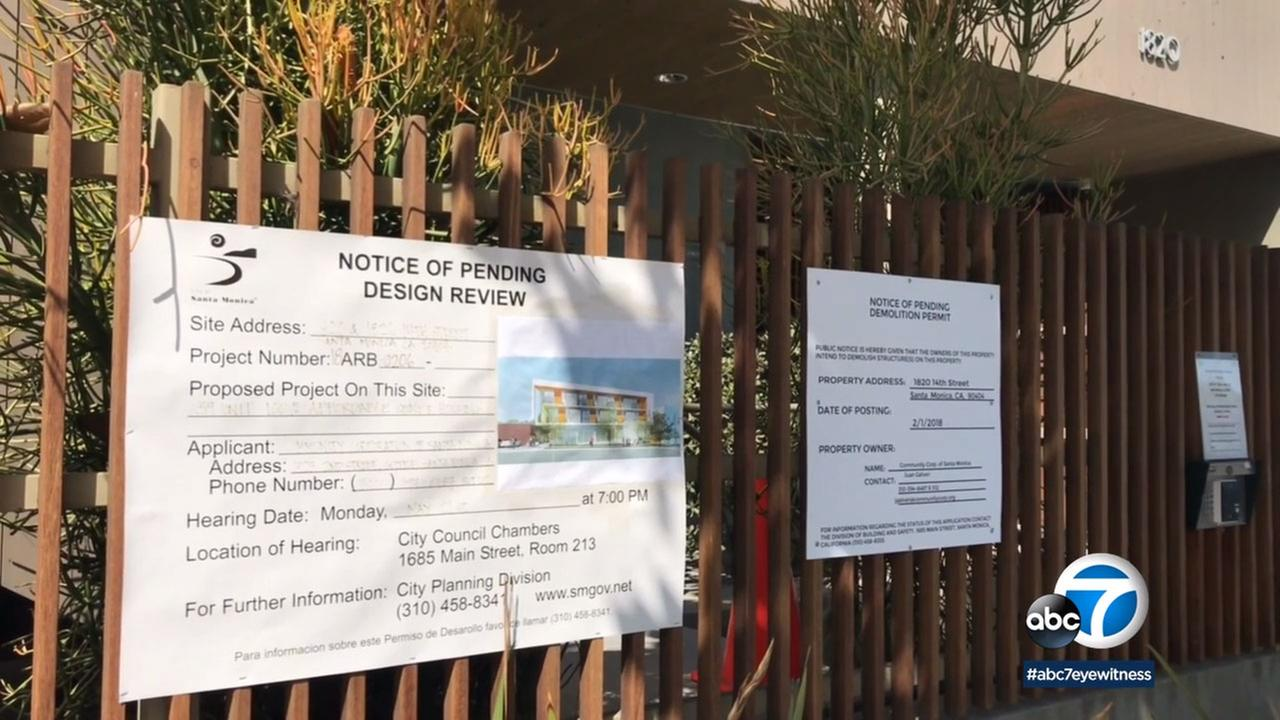 The Community Corporation of Santa Monica wants to replace a commercial building on 14th Street with low-income senior housing.