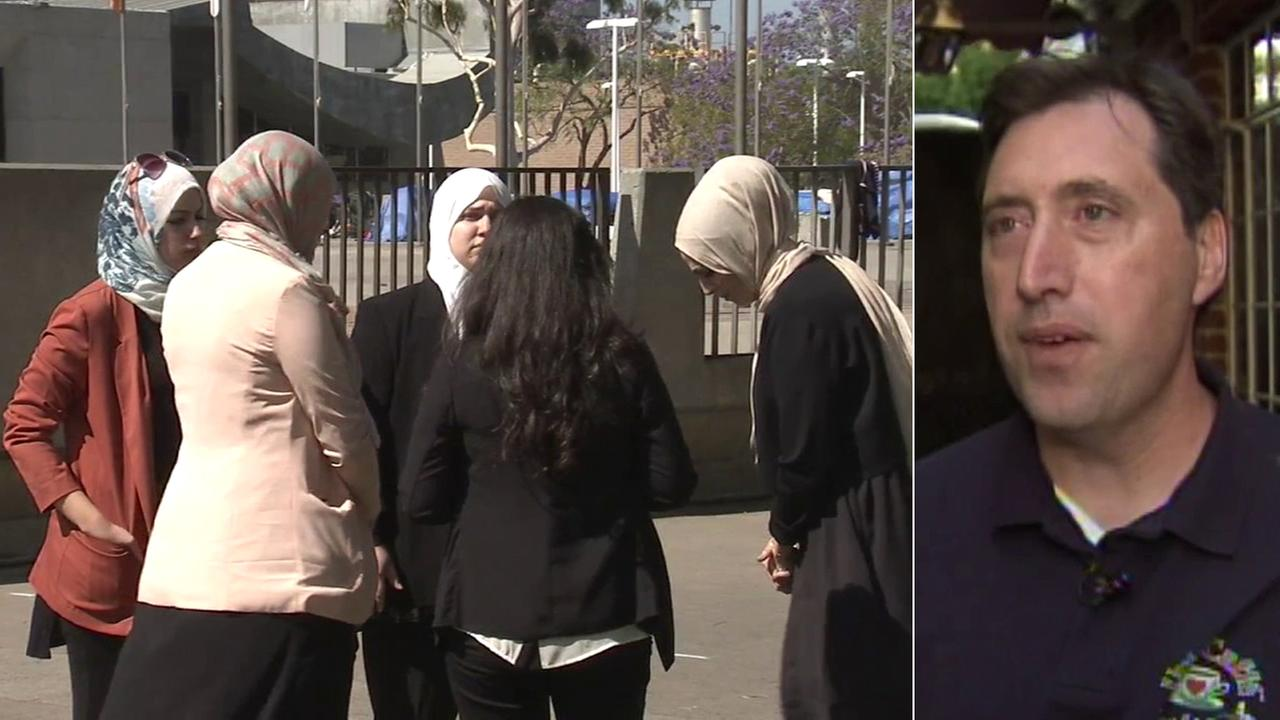A group of Muslim women kicked out of a Laguna Beach Urth Caffe have reached a settlement requiring the restaurant chain to hold diversity trainings and update its policies.