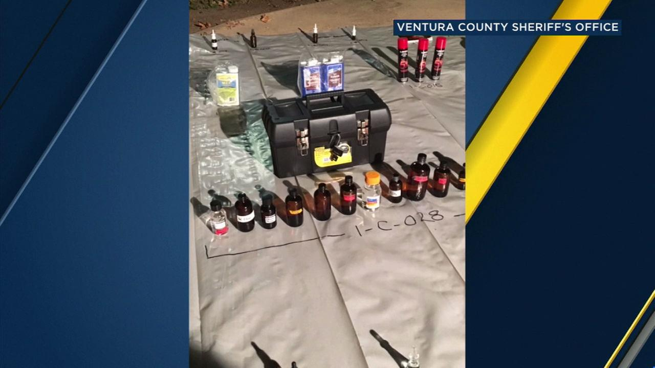 Anthony Albert, 22, was charged with manufacturing a controlled substance after authorities discovered a fentanyl lab inside a Thousand Oaks apartment.