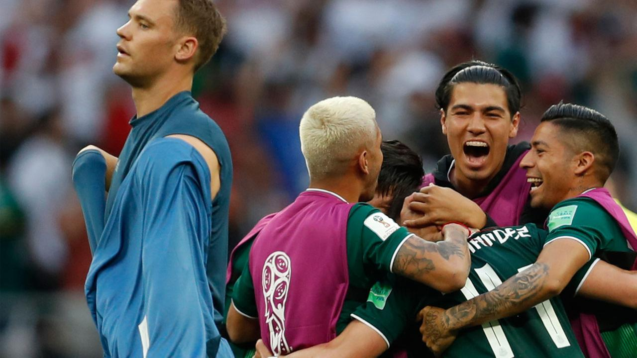 Historic World Cup goal causes 'earthquake' in Mexico