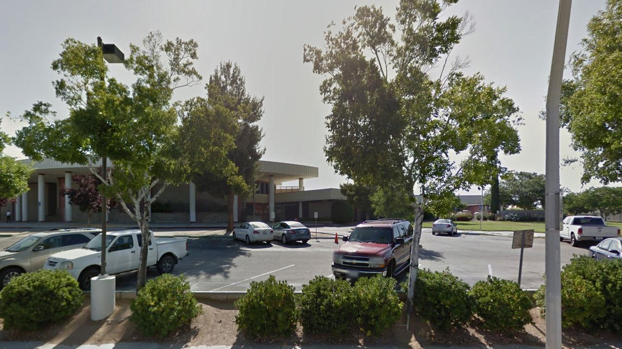 Highland High School in Palmdale is seen in this Google Maps image.