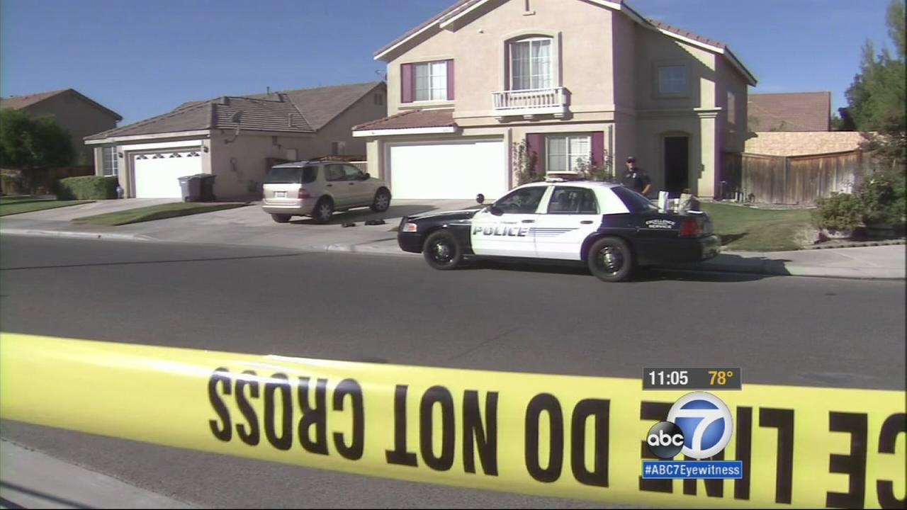 A 12-year-old boy and a 44-year-old man were found dead inside a home in Hemet. Family members say they were father and son.