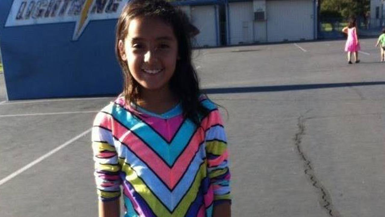 Ximena Meza is seen in an undated photo provided by her family. The 9-year-old was shot and killed in front of her Anaheim home on Wednesday, Oct. 22, 2014.