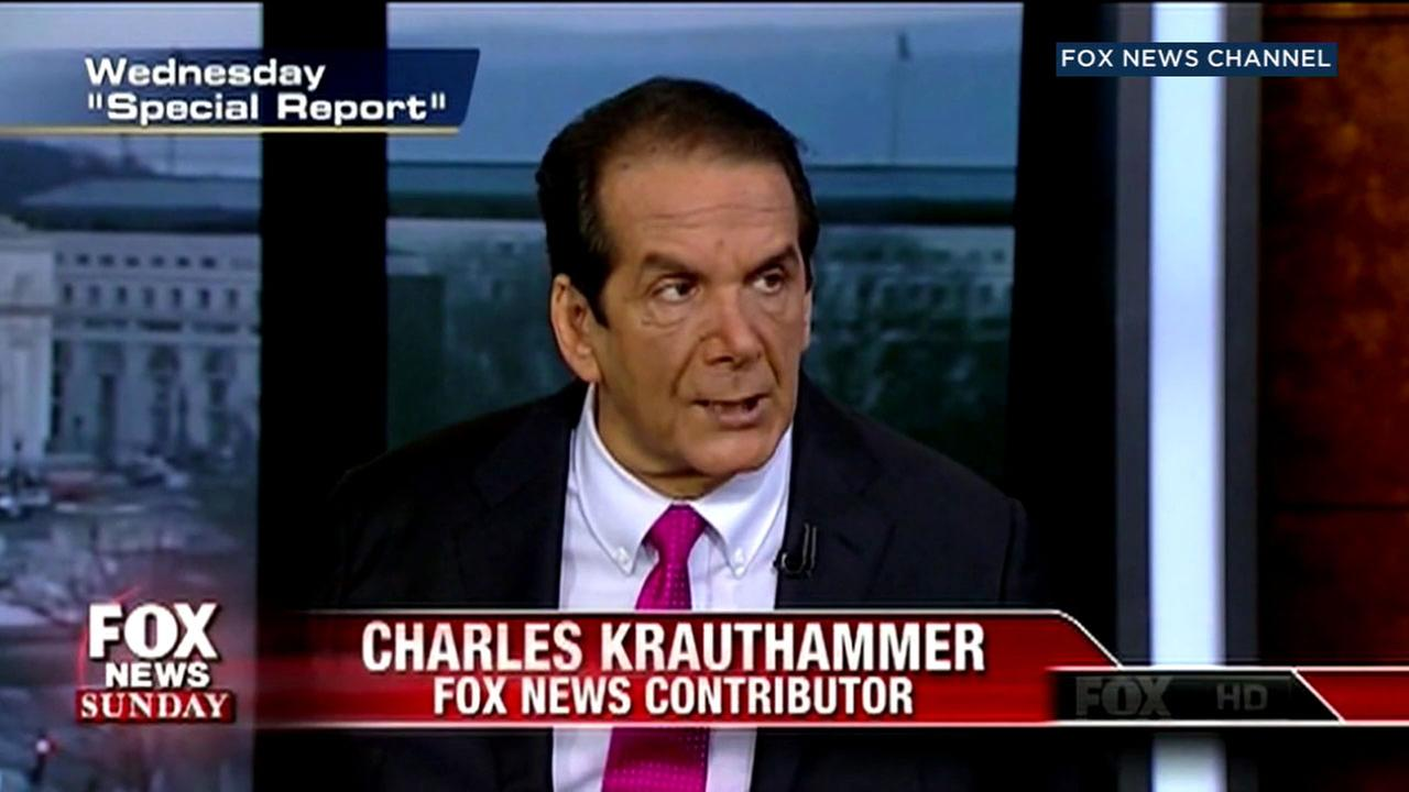 Conservative commentator and Pulitzer Prize winner Charles Krauthammer has died at age 68.