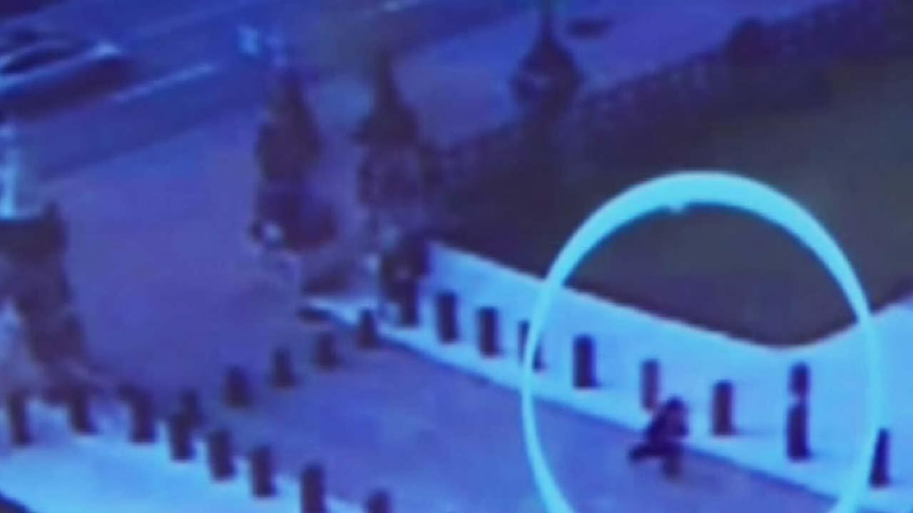 Newly released video shows the gunman in the Canada attack sprinting toward the Parliament building, carrying a rifle.