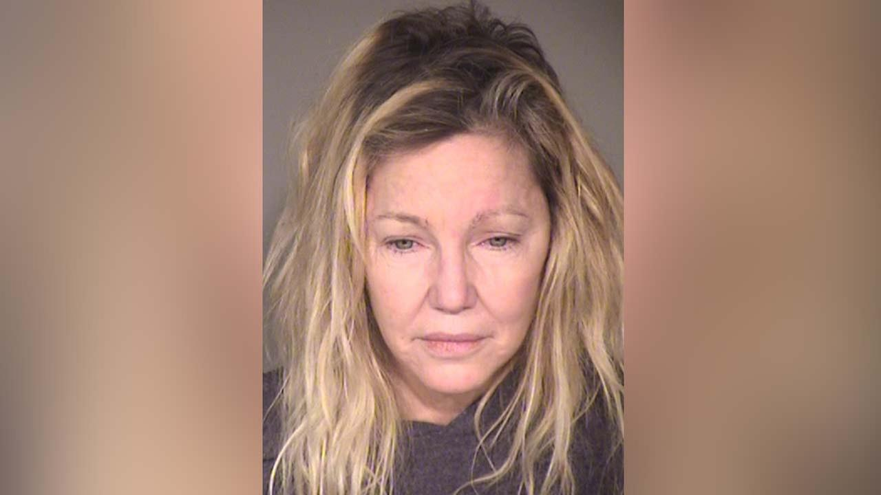 Heather Locklear is seen in a booking photo following her arrest on Sunday, June 24, 2018.