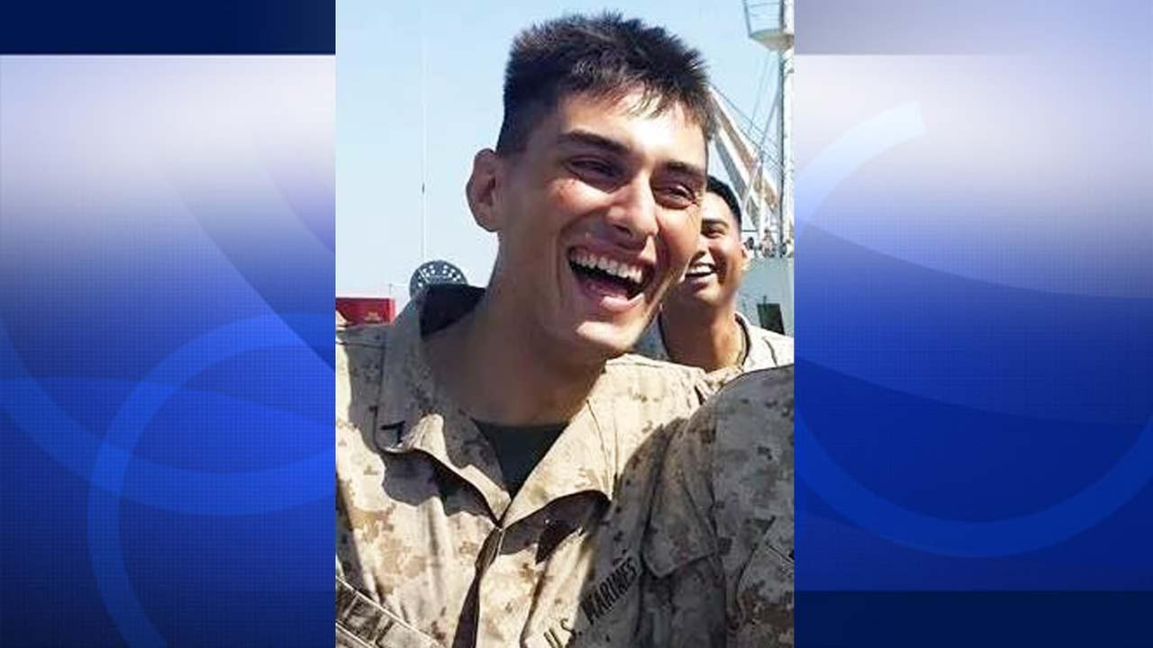 Lance Cpl. Sean Neal is shown in an image from his Facebook account.