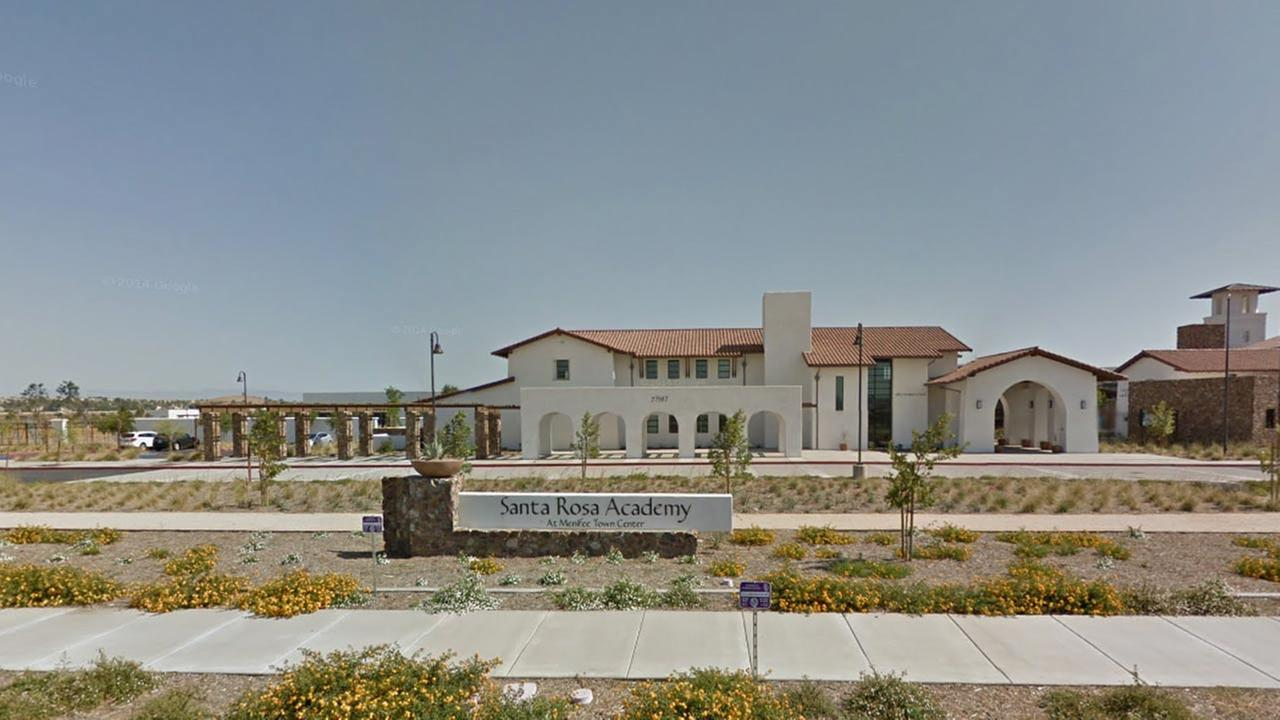 Santa Rosa Academy is seen in this Google Maps image.
