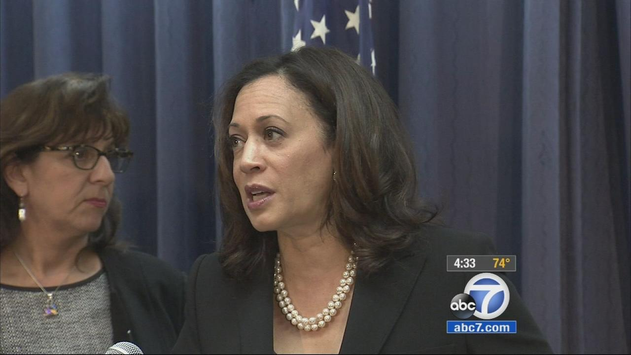 Data breaches impacted 18.5 million Californians in 2013, Attorney General Kamala Harris said.