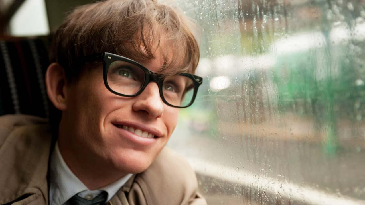 Eddie Redmayne appears in the film, The Theory of Everything.