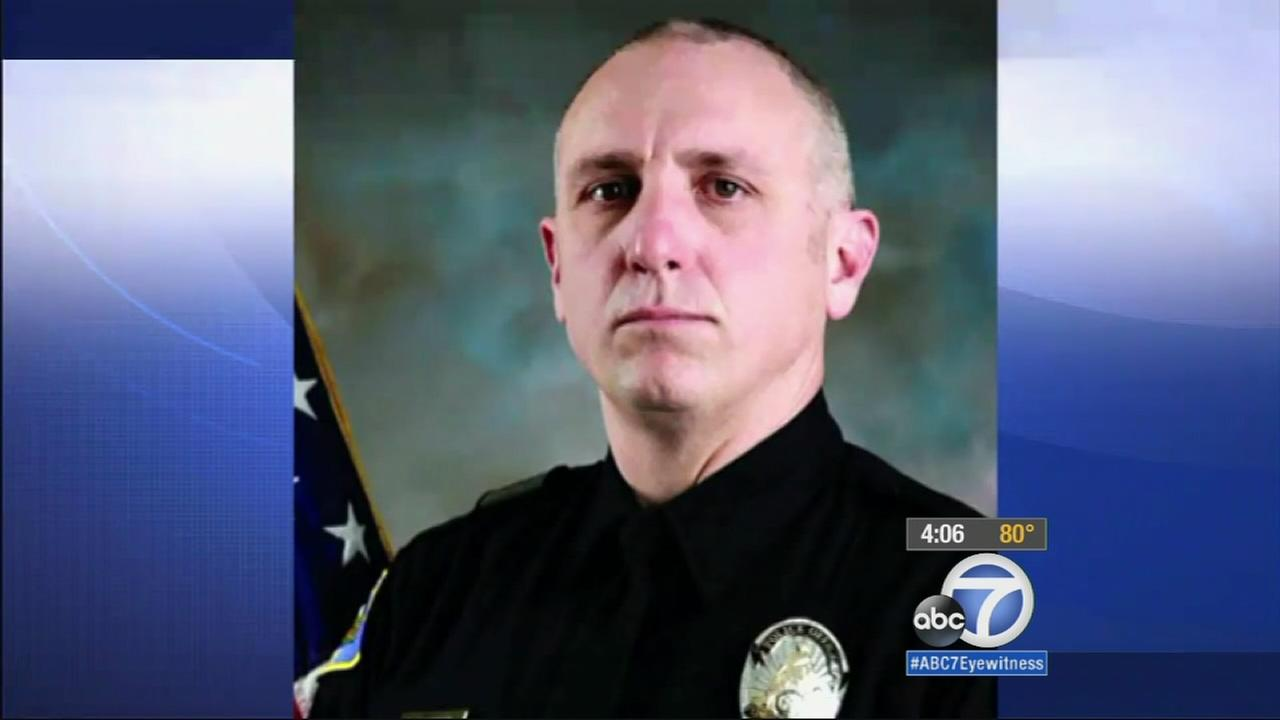 Pomona SWAT Officer Shaun Diamond, 45, died from his injuries after he was shot Tuesday, Oct. 28, 2014 while serving a search warrant in San Gabriel.