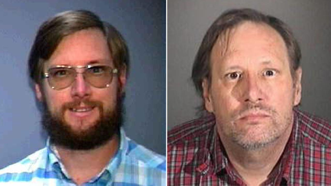 Daniel Montoya is shown in 1991, left, and in 2014, right.