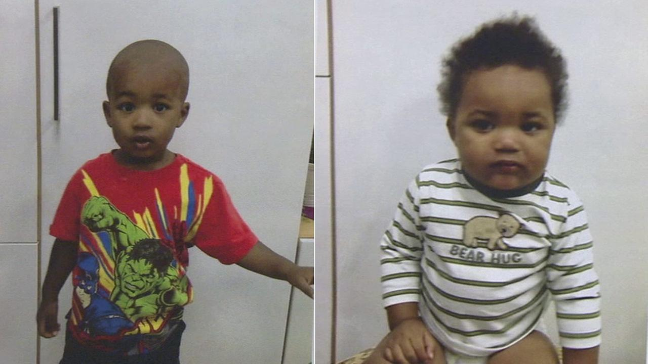 Two boys were found wandering the streets of Long Beach alone on Thursday, Oct. 30, 2014.