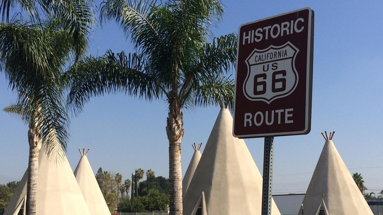 One of only two remaining Wigwam Motels on historic Route 66 -- a must stop for travelers from around the world.