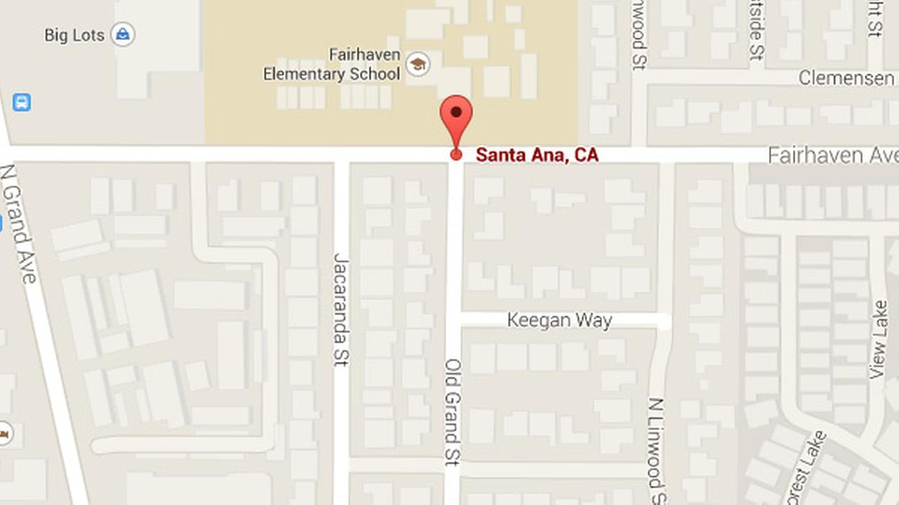 3 children are dead after a hit-and-run driver struck them at Old Grand and Fairhaven in Santa Ana, Friday, Oct. 31, 2014.