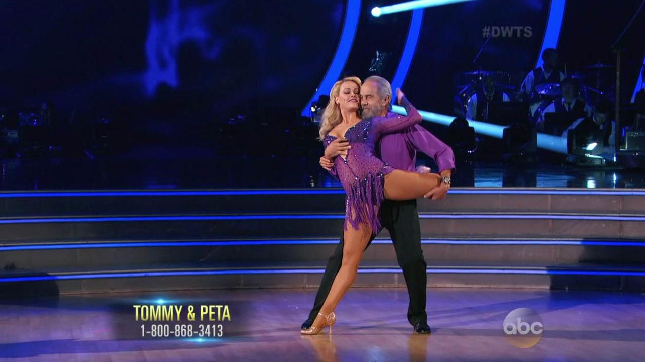 Dancing with the stars group dance week 8