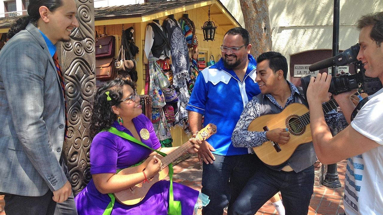 Vista L.A. catches up with Latin band La Santa Cecilia