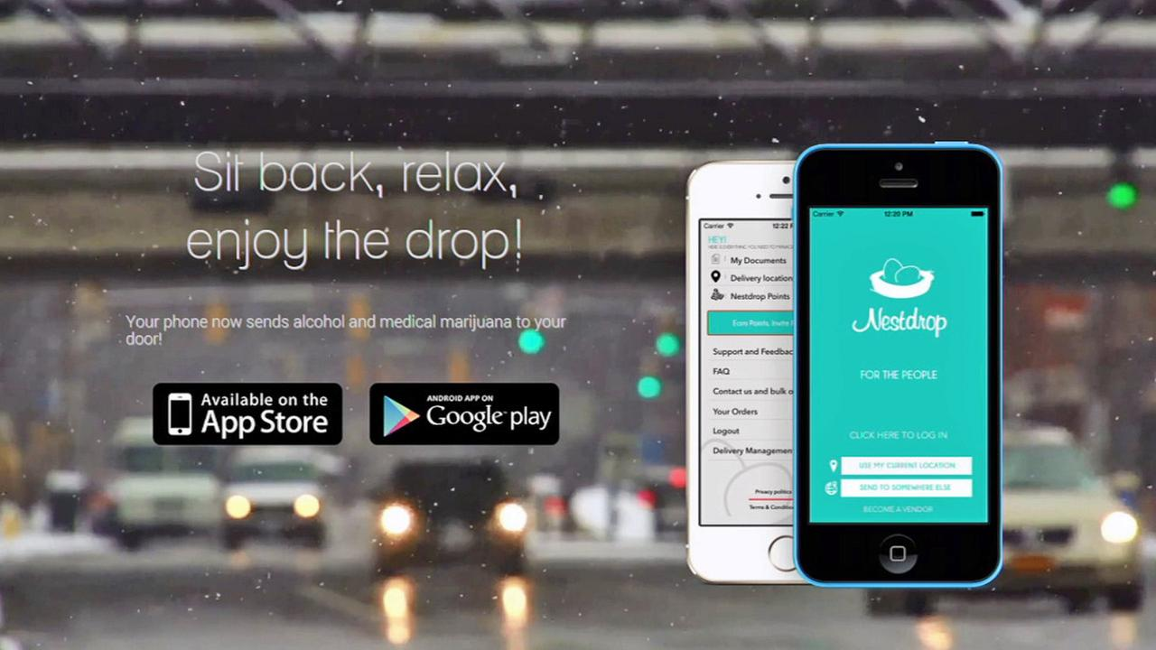 Nestdrop app now delivering medical marijuana across LA