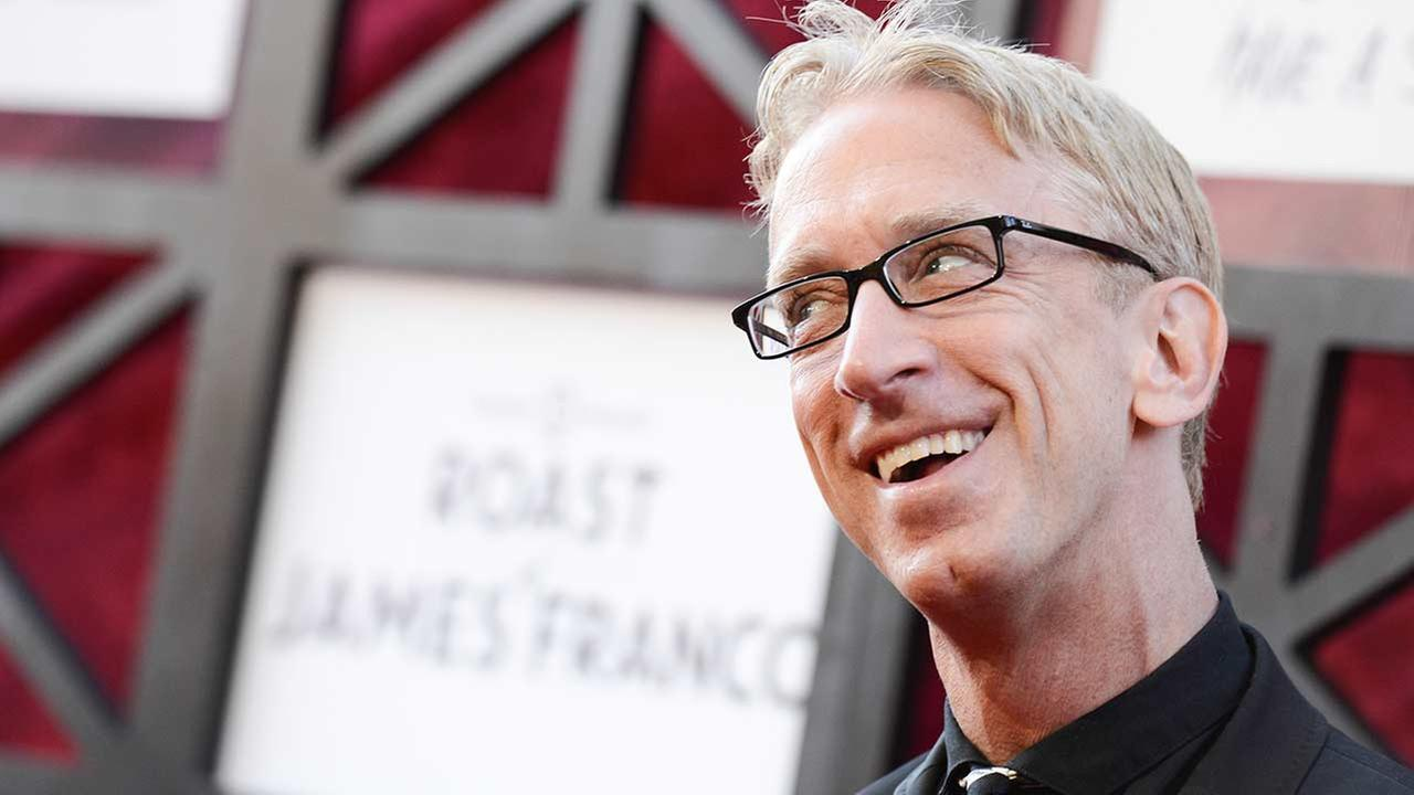 Actor and comedian Andy Dick arrives at the Comedy Central Roast of James Franco at The Culver Studios on Sunday, Aug. 25, 2013 in Culver City, Calif.