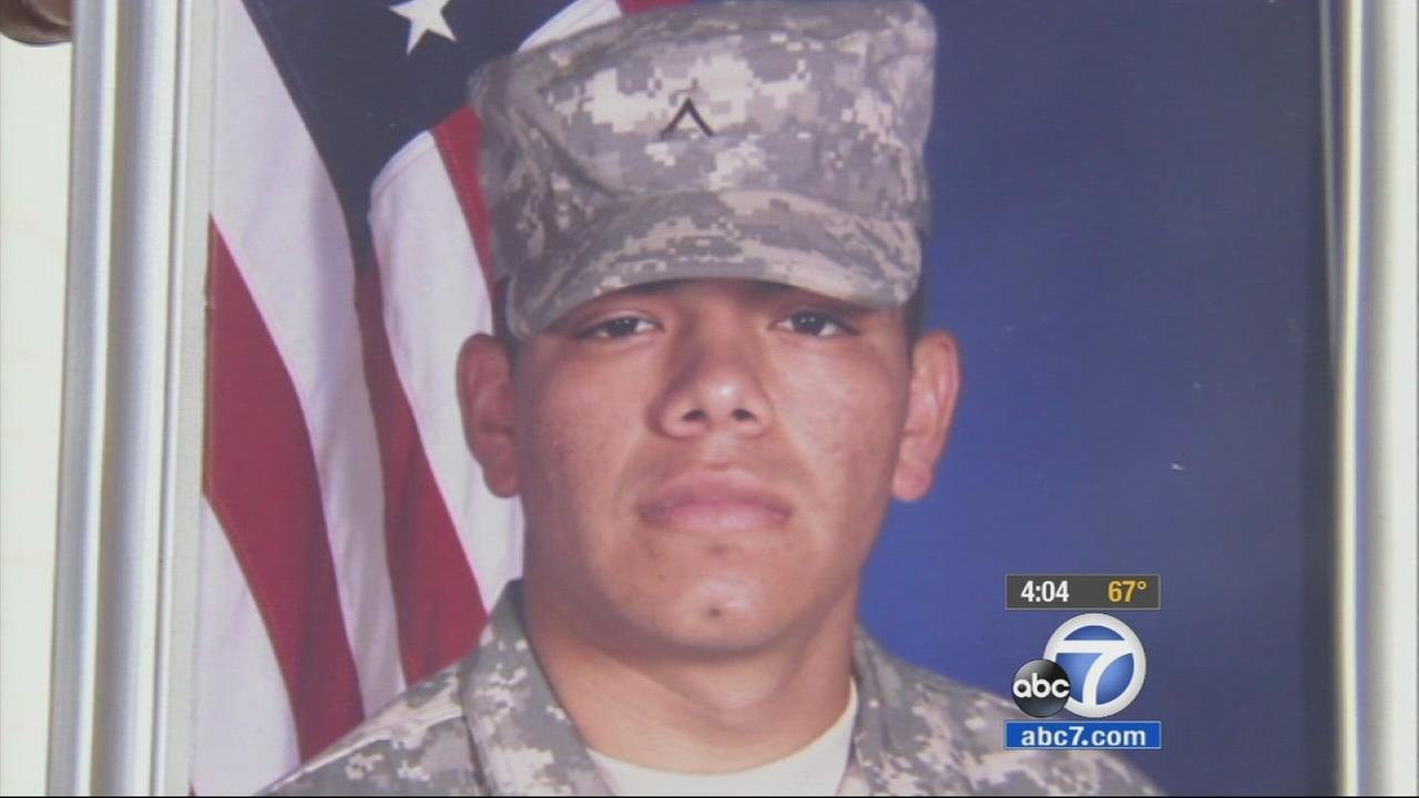 The murder of a 21-year-old U.S. Army veteran in Sylmar Sunday, Nov. 9, 2014 is having a dramatic effect on veterans around Southern California.