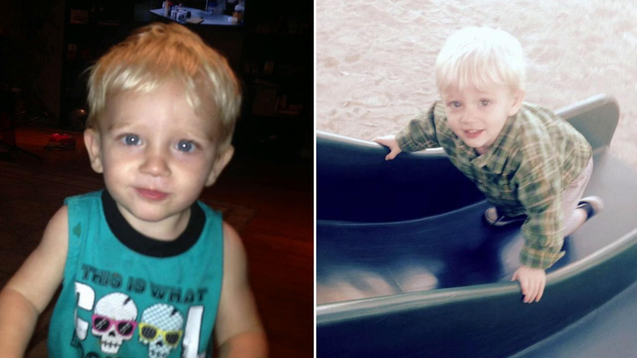 A 1-year-old boy was hospitalized after being viciously attacked by a stray dog at Emerald Park in French Valley Friday, Nov. 14, 2014.