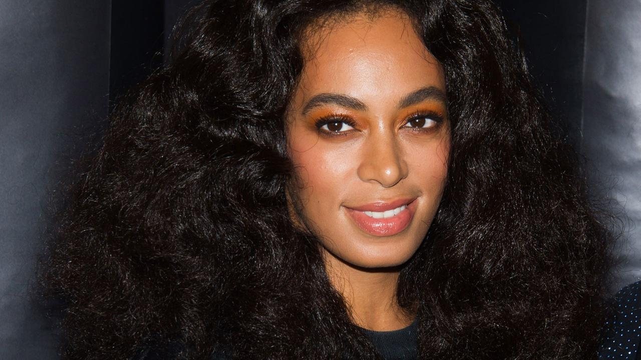 Solange Knowles attends the Alexander Wang x H&M collection launch event on Thursday, Oct. 16, 2014 in New York.