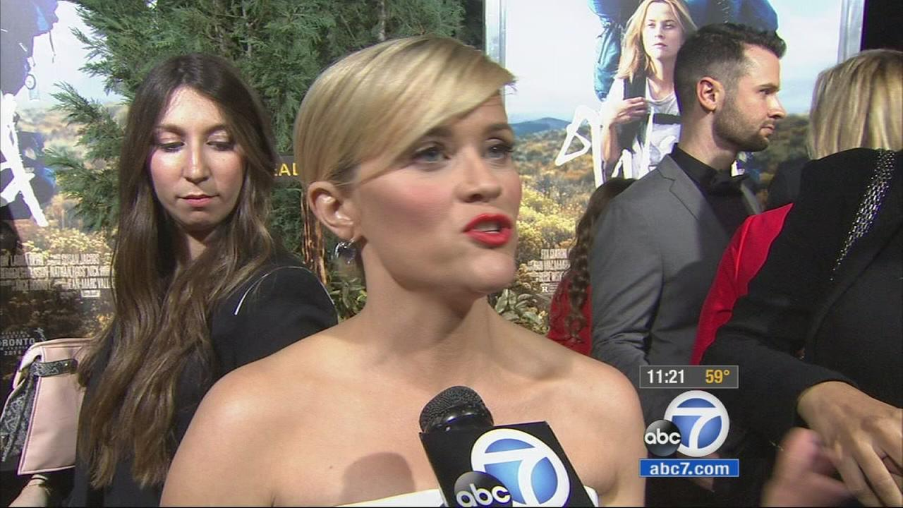 Reese Witherspoon, who produced and starred in Wild, said the film presented many challenges for her as an actress.