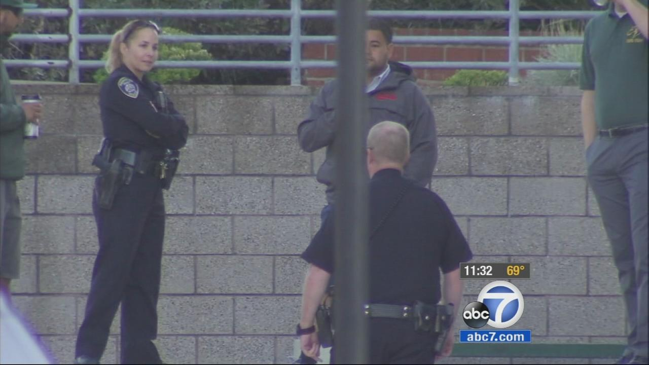As classes resumed at Mira Costa High School on Thursday, new security measures were in place in response to threats posted on social media.