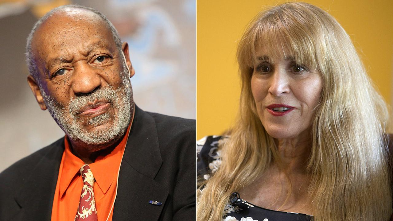 Nurse Therese Serignese (right) claims Bill Cosby raped her in 1976 when she was 19 years old following a show in Las Vegas.