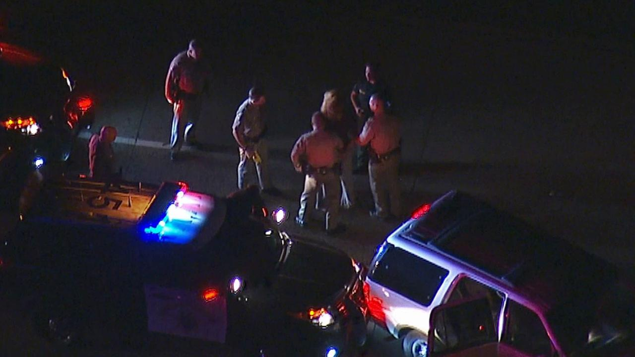 A possibly suicidal woman led Los Angeles police and CHP on a high-speed chase through multiple counties Thursday, Nov. 20, 2014.