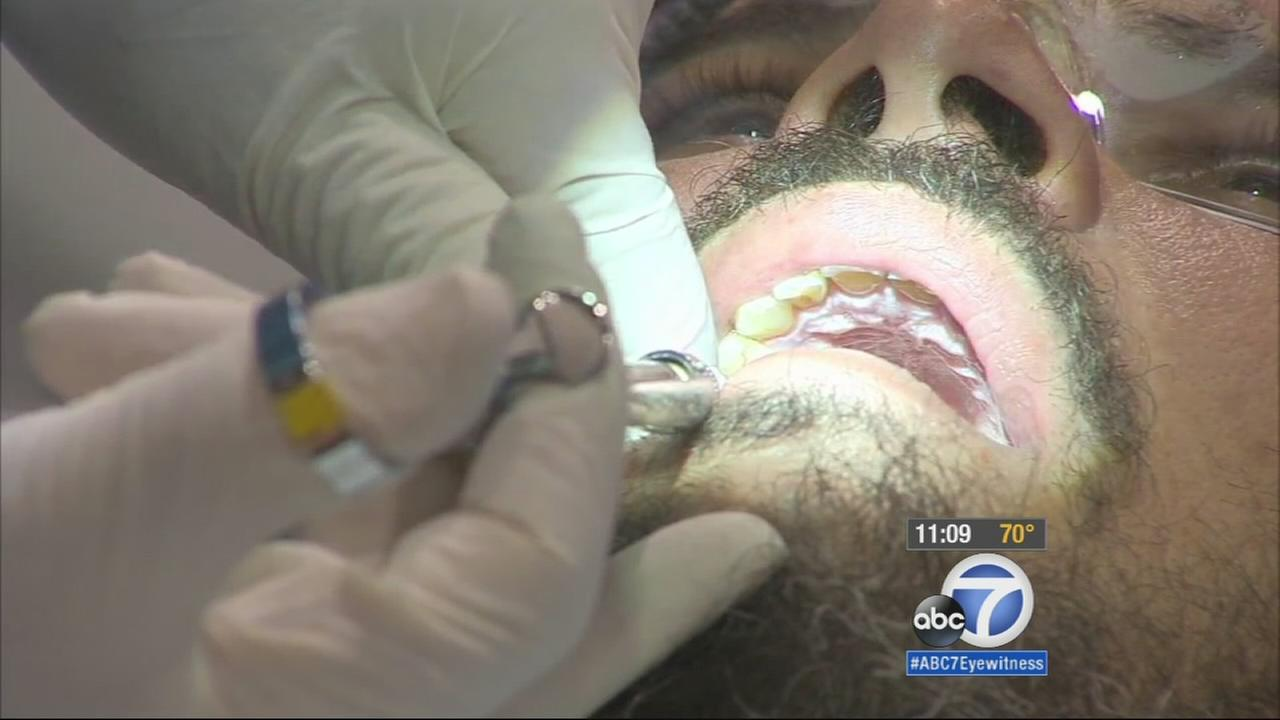 A free two-day dental clinic opened its doors on Friday at the Pomona Fairplex, providing dental care at no charge for thousands of Californians.