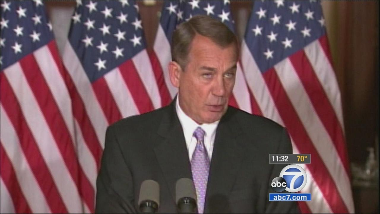 House Speaker John Boehner declared Friday that President Barack Obama was damaging the presidency with his unilateral action on immigration.