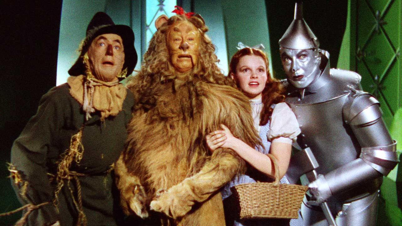 A still image from The Wizard of Oz is shown in this file image.