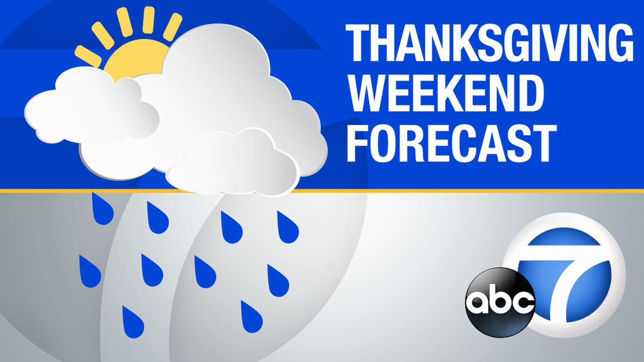 LA Metro and Southern California Thanksgiving weekend forecast
