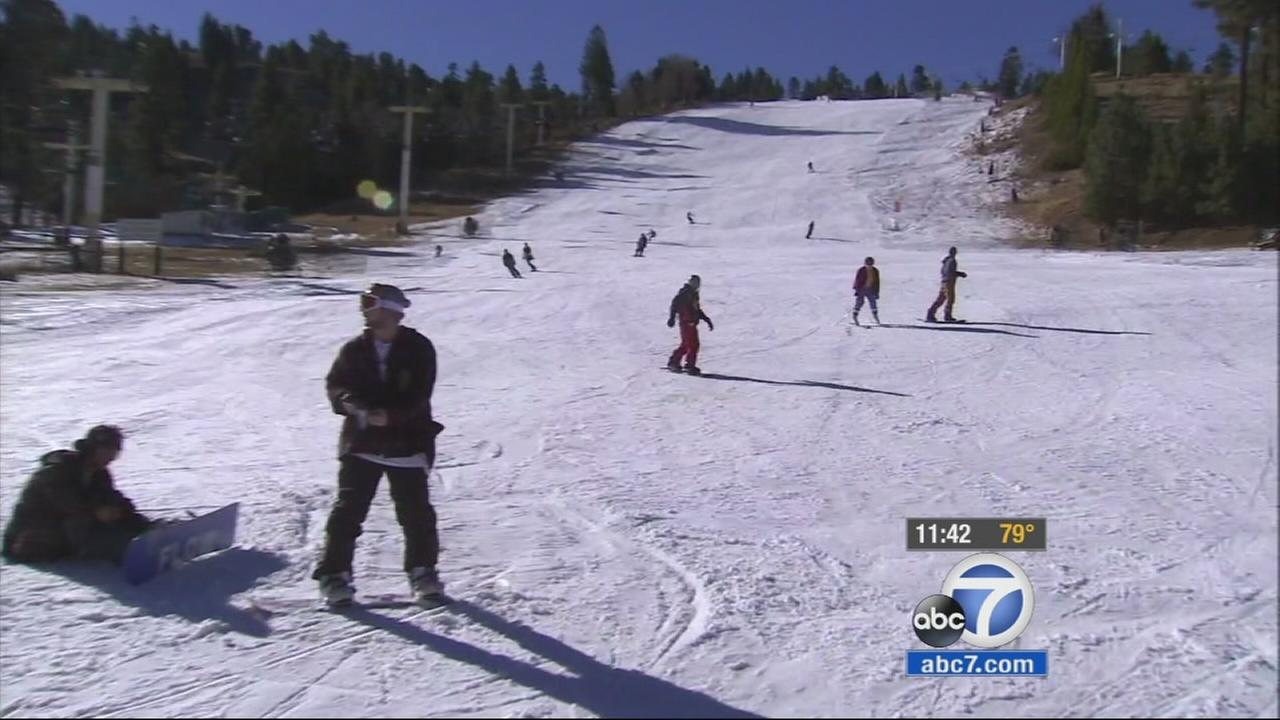 Its time to grab your skis and snowboards! Snow Summit officially opened for business on Wednesday.