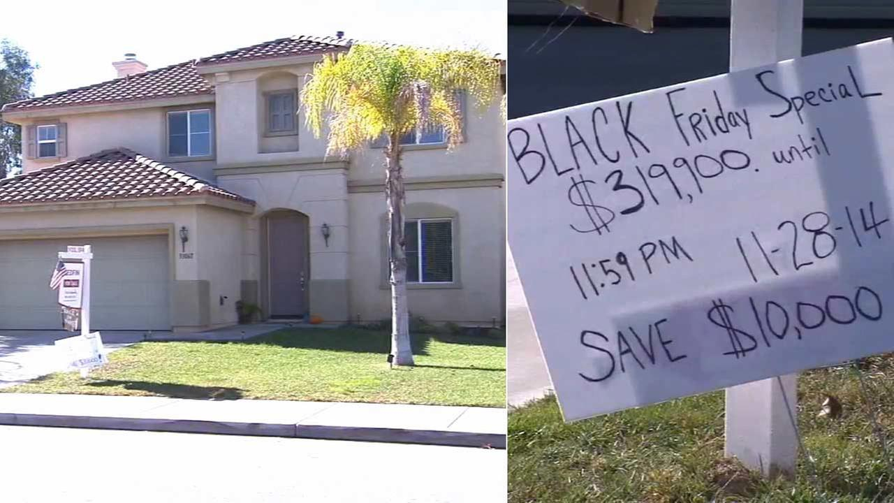 Many people look for deals on electronics and toys on Black Friday, but how about a house? One woman in Menifee is offering a very big discount on the busiest shopping day of the year.