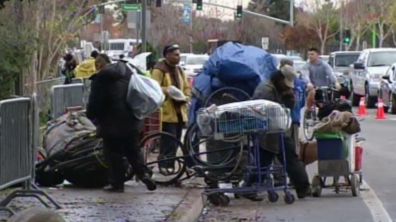 Crews in San Jose began dismantling what many believed was the largest homeless encampment in the country.