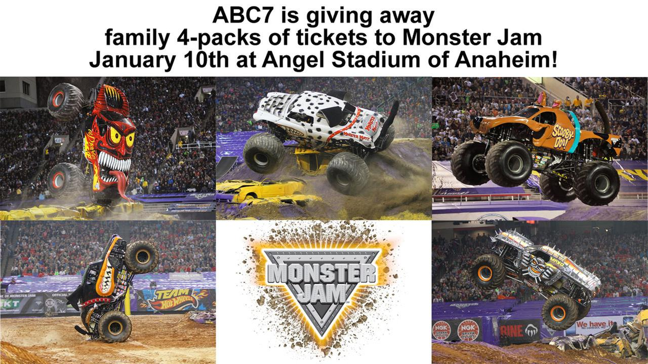 Monster Jam Sweepstakes