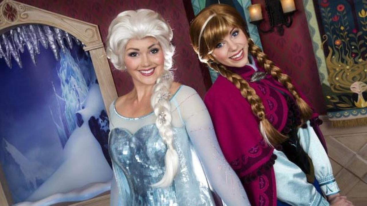 Frozen Will Take Over Part Of Disney California