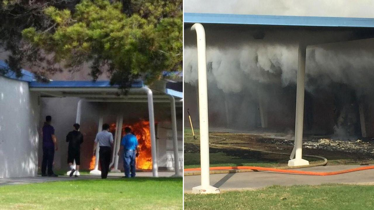 Fire erupts at bolsa grande high school in garden grove Garden grove breaking news now