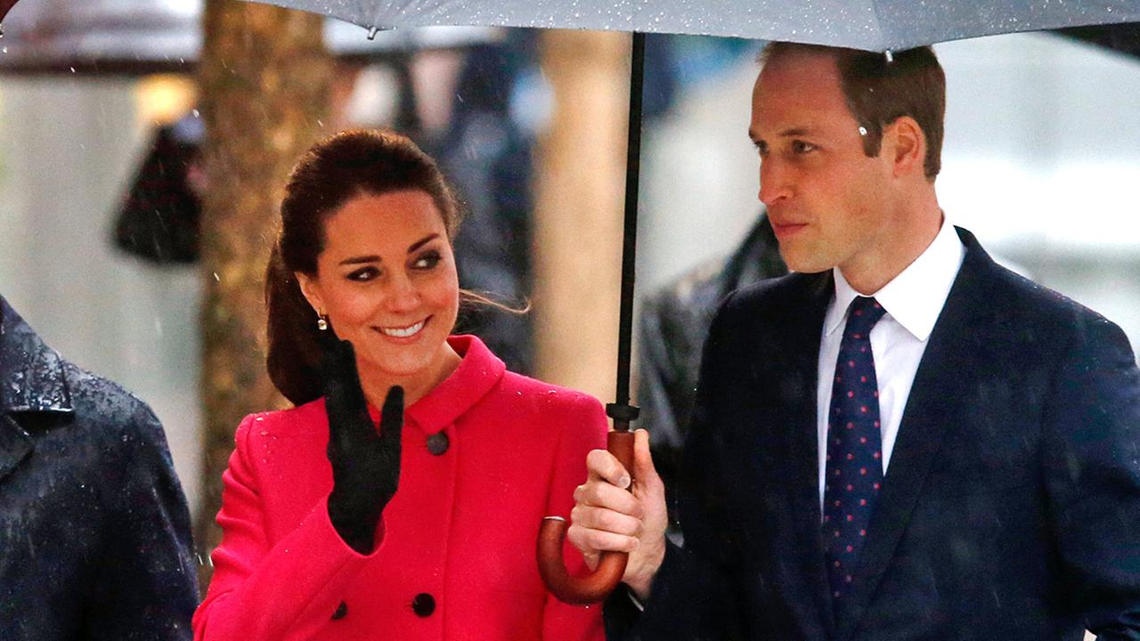 Britains Prince William, the Duke of Cambridge, and Kate, Duchess of Cambridge, visit the National Sept.11 Memorial and Museum, Tuesday, Dec. 9, 2014 in New York.