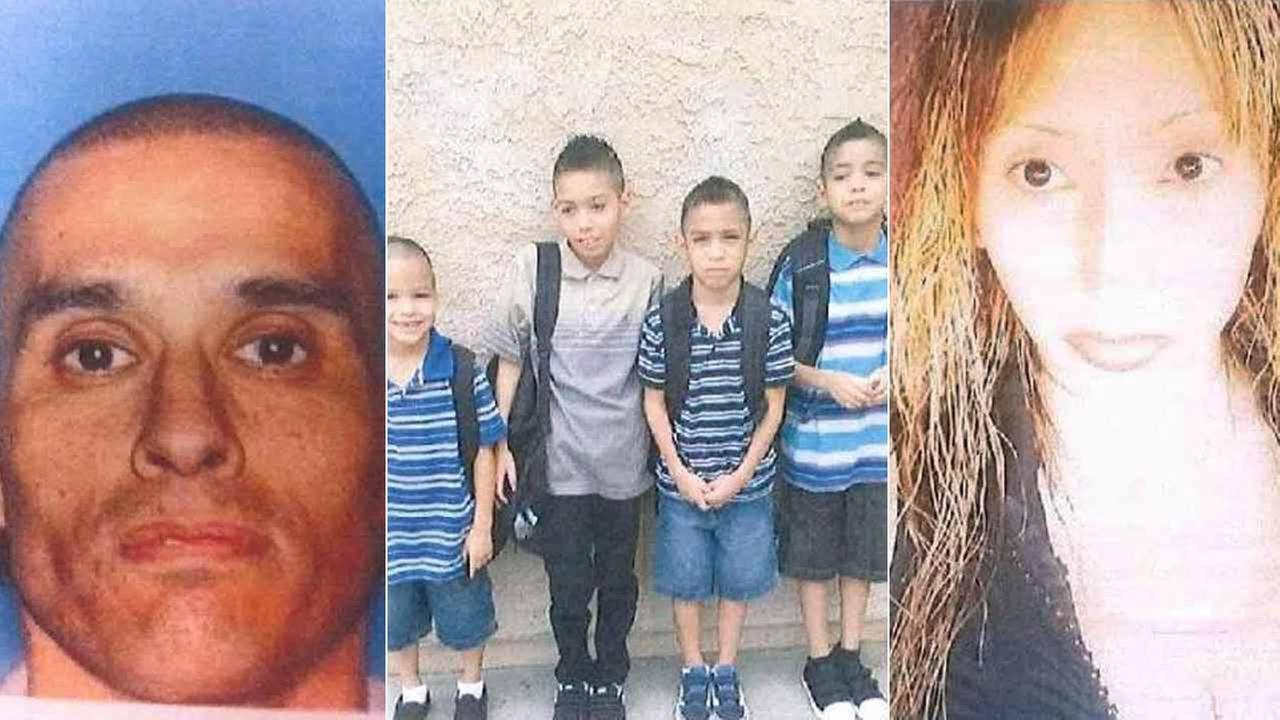 Erica Perez, 39, her husband Daniel Perez, 43, and their four sons, Jordan, 11, Alex, 6, Jaiden, 9, and Tristan, 8, were last seen Friday, Dec. 5, 2014.