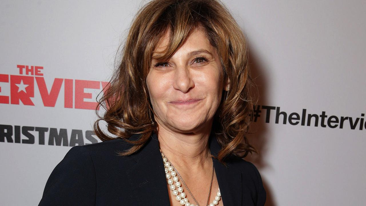 Amy Pascal, Co-Chairman, Sony Pictures Entertainment Chairman, Sony Pictures Entertainment Motion Picture Group seen at Columbia Pictures World Premiere of The Interview.