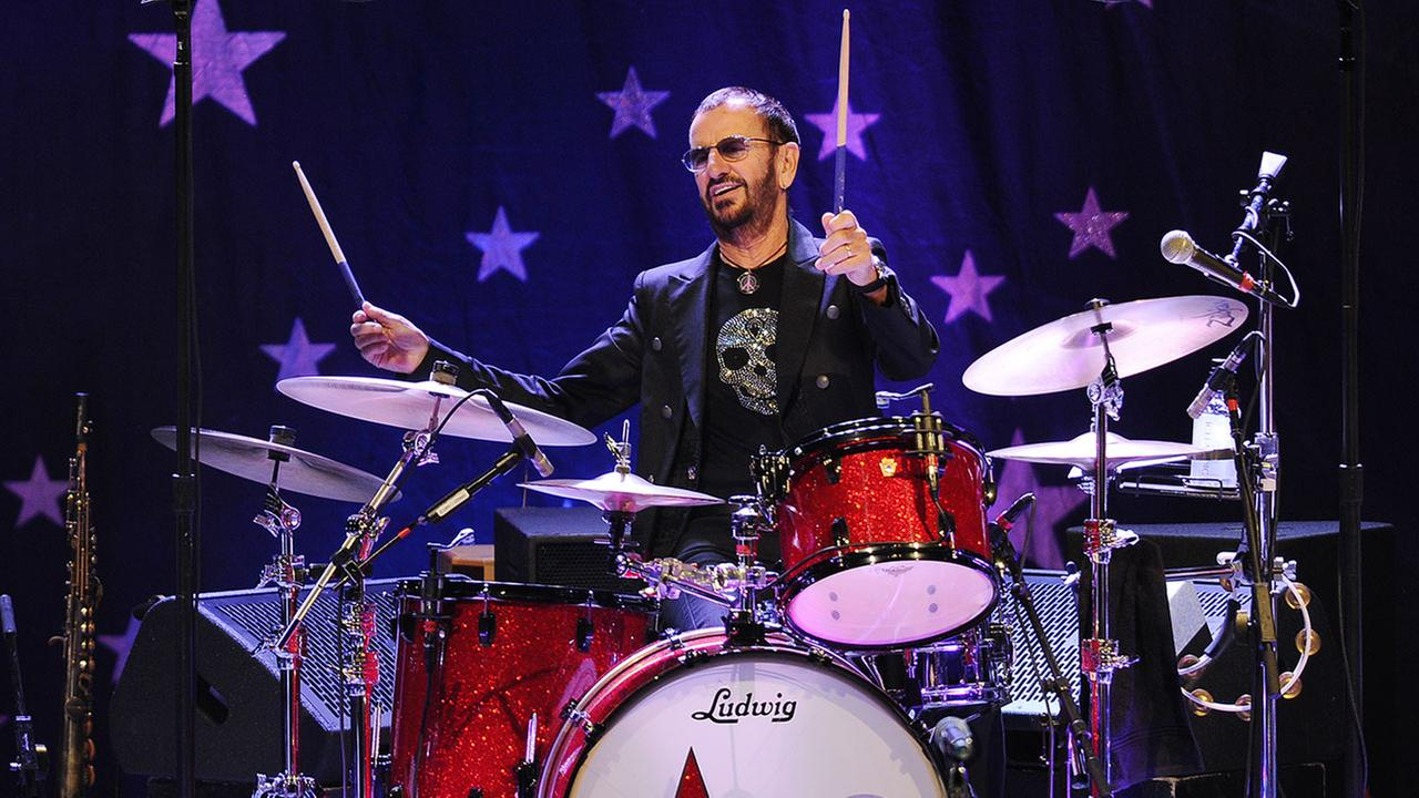 Ringo Starr and his All Starr Band performs at the Broward Center for the Performing Arts on October 21, 2014 in Ft Lauderdale, Florida.